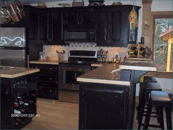 of painted kitchen cabinets painted black kitchen cabinets photos