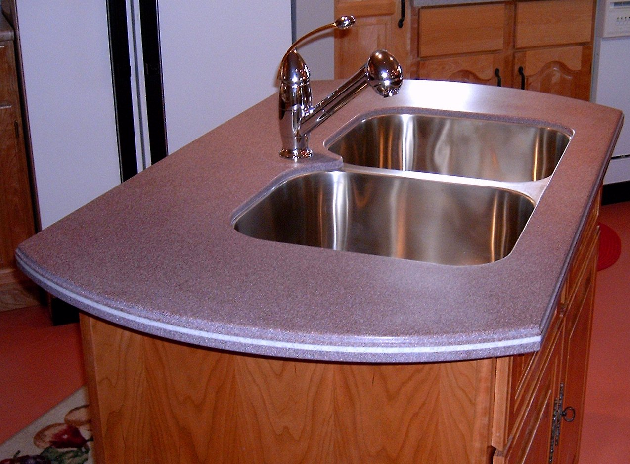 Acryflex Solid Surface Counter Top
