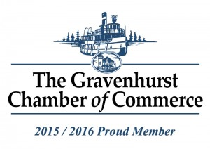 Member of Gravenhurst Chamber of Commerce - contact us