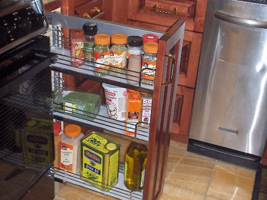 Nefsky's Kitchen pull out base cabinet