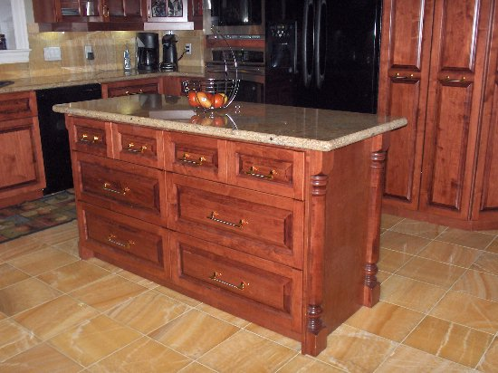 Nefsky's Kitchen island