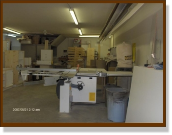Cabinets Plus of Muskoka manufacturing facility