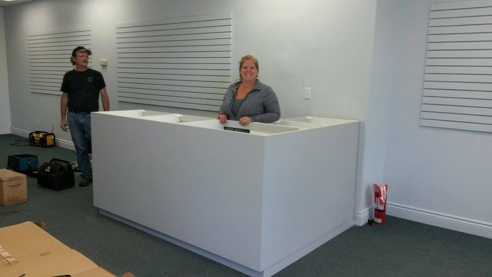 Custom Service Counter