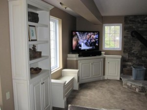 custom built in wall units