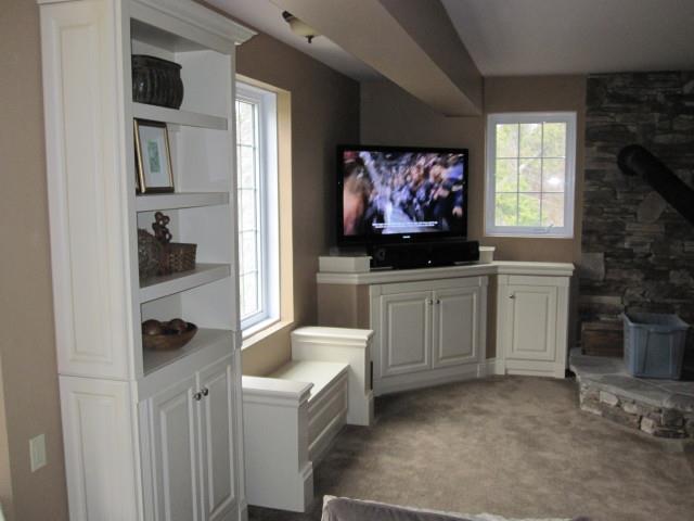custom built in wall units