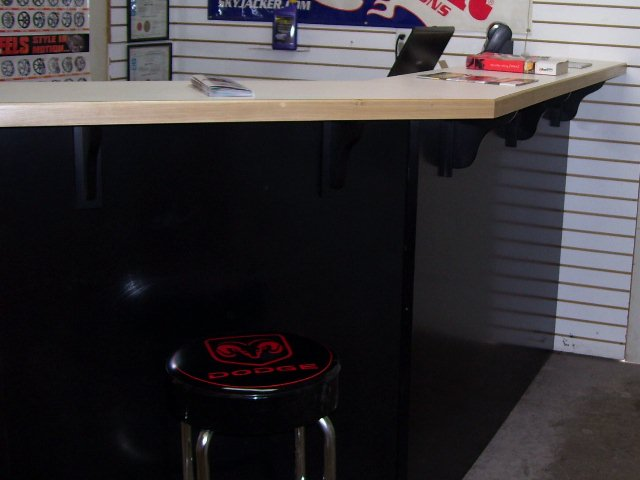 automotive service counter
