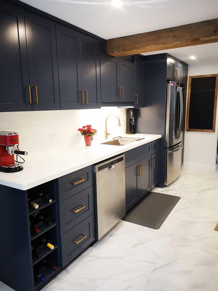 Miller Kitchen - Custom Cabinets - Cabinets Plus of Muskoka