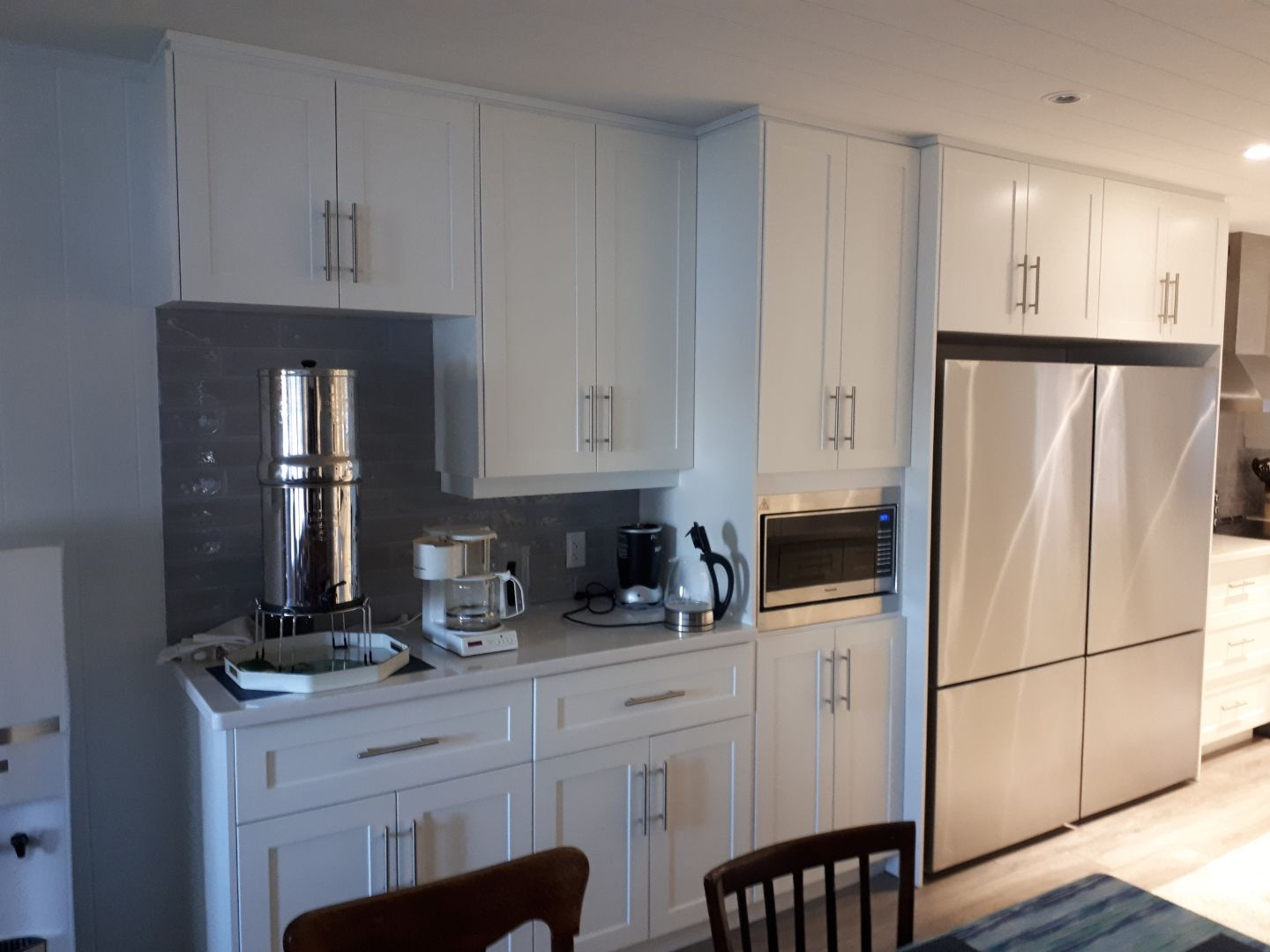 Port Carling Kitchen - White Shaker