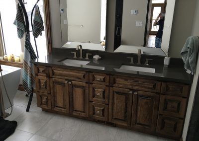 Dollo Custom Bathroom Cabinet
